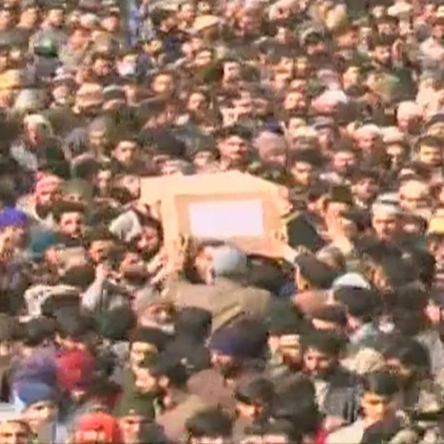 WATCH: OUTPOURING OF GRIEF FOR MARTYR