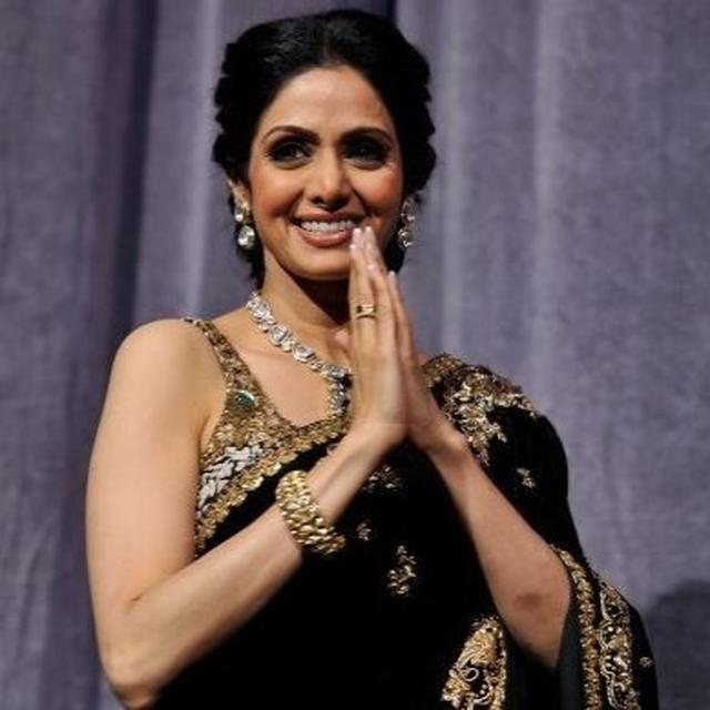 'SPECIAL CONNECTION WITH SRIDEVIJI'