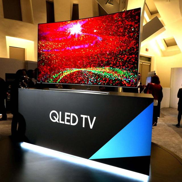 SAMSUNG LAUNCHES NEW QLED TV