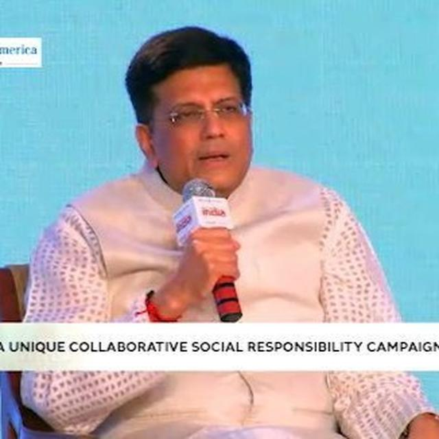 PIYUSH GOYAL SUPPORTS BEHTAR INDIA