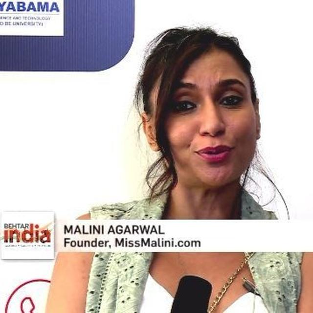 MISS MALINI ON BEHTAR INDIA