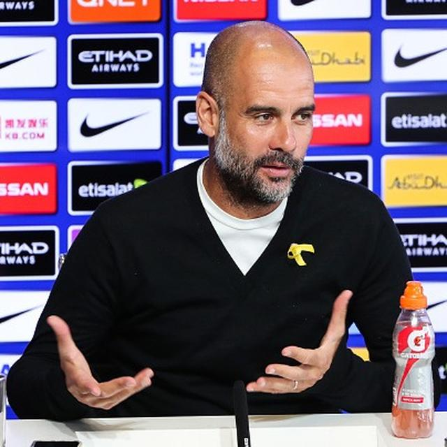 PEP GUARDIOLA AIMS AT PREMIER LEAGUE