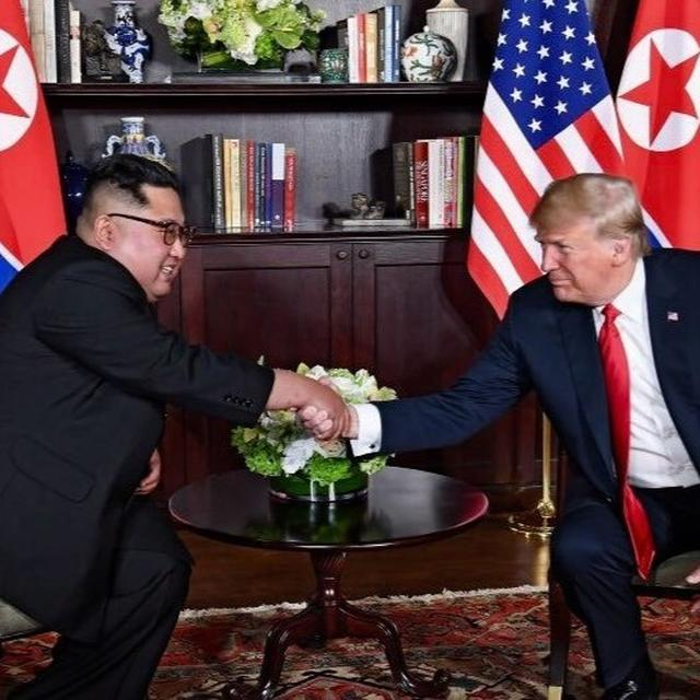 TRUMP-KIM HISTORIC HANDSHAKE