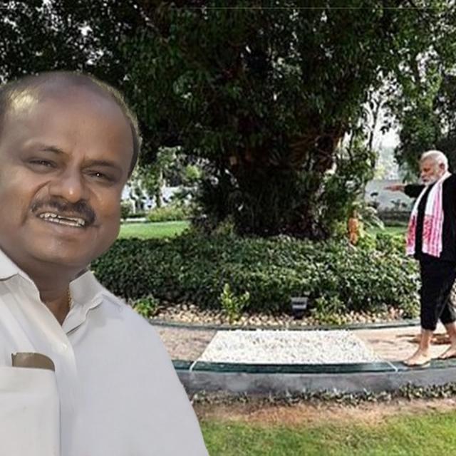 KUMARASWAMY REACTS TO PM'S FITNESS CHALLENGE