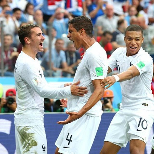 WORLD CUP: GRIEZMANN BACK TO HIS BEST AS FRANCE BEAT URUGUAY