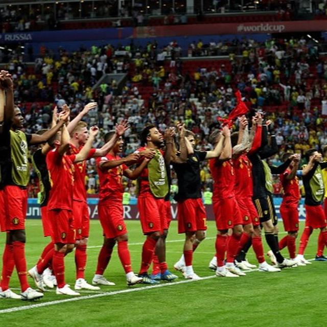 WORLD CUP: BELGIUM BEAT BRAZIL IN QUARTER-FINALS
