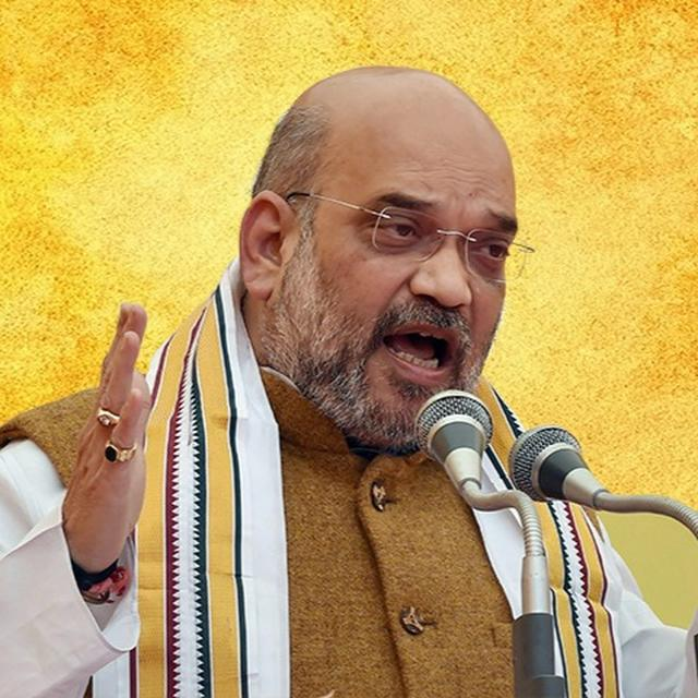 AMIT SHAH ARRIVES IN TN, TO PEP UP BJP WORKERS