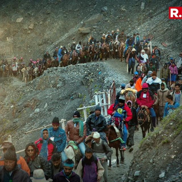 TWO AMARNATH PILGRIMS KILLED IN ACCIDENT
