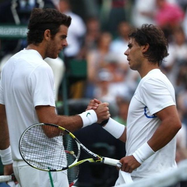 WIMBLEDON: NADAL TO TAKE ON DEL POTRO