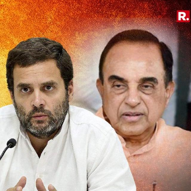 DR SWAMY ON BIG THREAT TO BJP