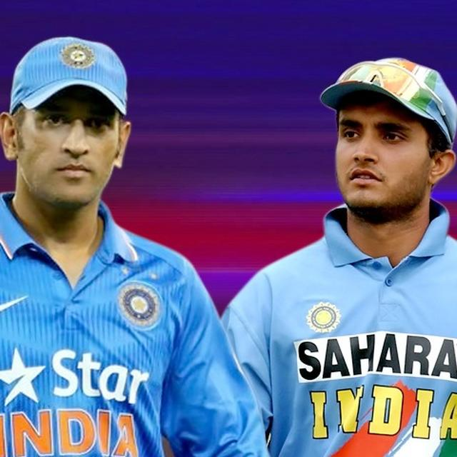 GANGULY RECALLS CHANGING DHONI'S CAREER