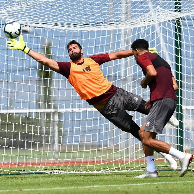 WATCH: ALISSON'S STUNNING SAVE