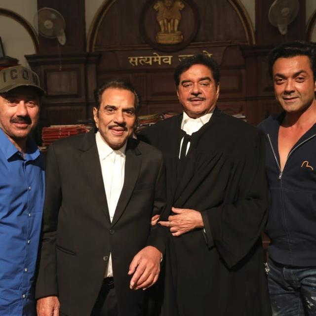 DHARMENDRA AND SHATRUGHAN SINHA TOGETHER AFTER 20 YEARS