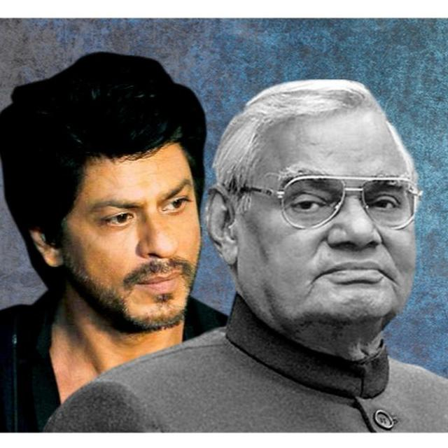 SRK LAMENTS THE DEATH OF VAJPAYEE