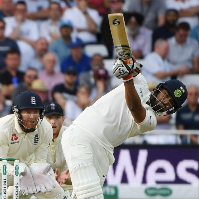 PANT CREATES RECORD ON DEBUT