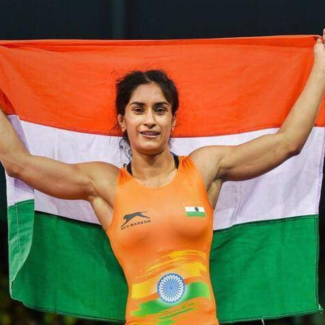 VINESH PHOGHAT WINS GOLD