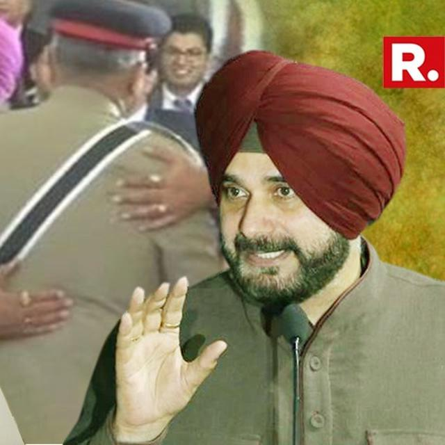 CONG WITH ME, NOT ANSWERABLE TO BJP: SIDHU