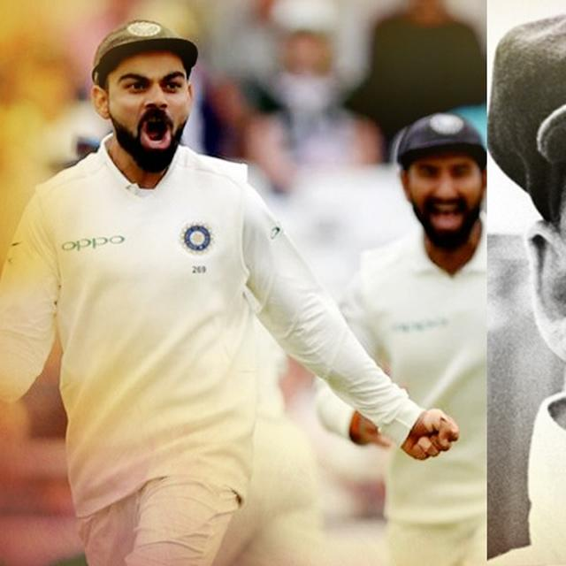 KOHLI'S CHANCE TO EMULATE BRADMAN