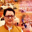 RIJIJU COUNTERS RAHUL ON MAOISTS; COURTS LOOM FOR ACCUSED PERSONS