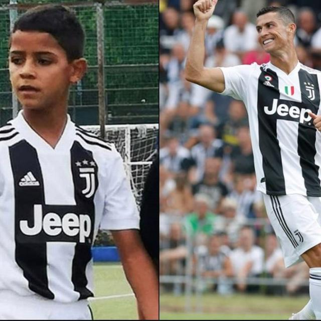 WATCH: RONALDO JR. SHOWS FATHER HOW TO SCORE