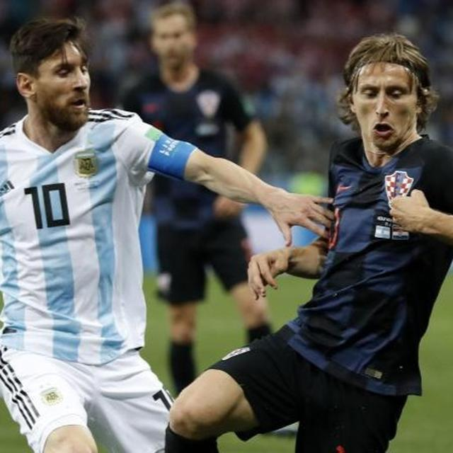 MESSI'S TEAMMATE ACCEPTS MODRIC HAS BEEN BETTER