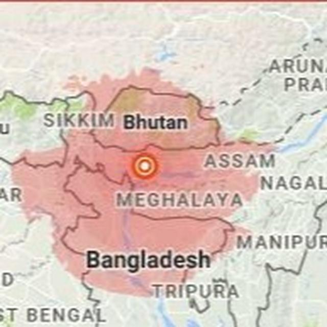 MAGNITUDE 5.6 EARTHQUAKE RATTLES NORTH-EAST