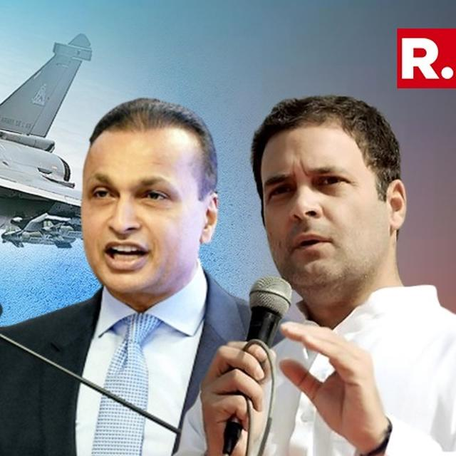 RAHUL'S EDICT FOR CONG LAWYER-LEADERS: DON'T ENGAGE ANIL AMBANI