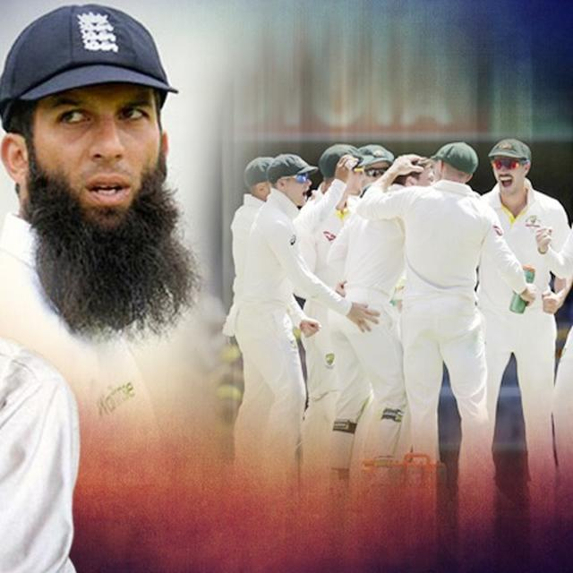 MOEEN ACCUSES AUSTRALIAN PLAYER OF RACIAL ABUSE