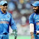 WATCH: DHONI, ROHIT SHARMA SWEAT IT OUT IN THE NETS