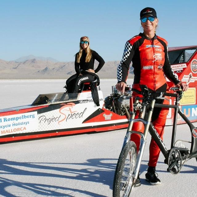AMERICAN CYCLIST SHATTERS TWO-DECADE-OLD RECORD