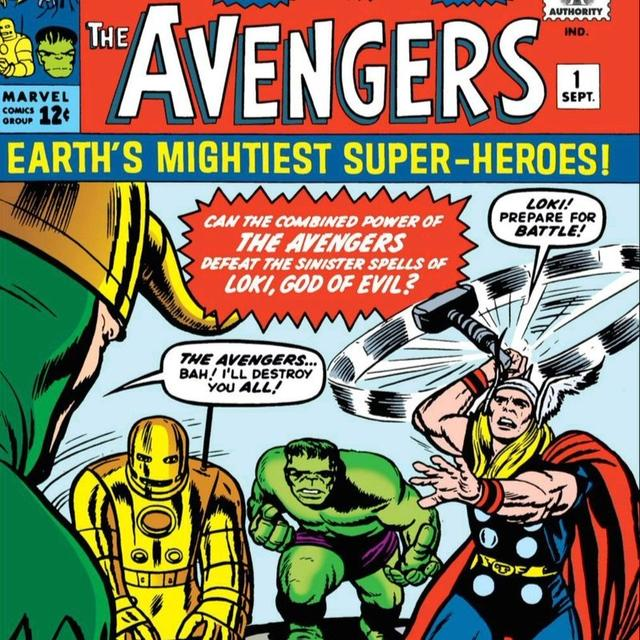 STAN LEE SHARES THE COVER OF THE FIRST 'AVENGERS' COMIC