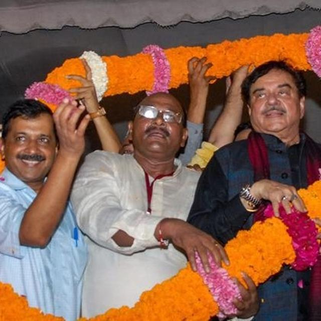 YASHWANT & SHATRUGHAN IN TALKS WITH AAP?