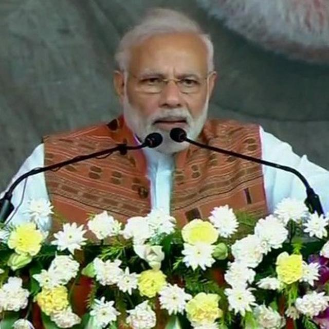 ODISHA: PM MODI CALLS FOR 'PARIVARTAN', HITS OUT AT BJD's LAIDBACK ATTITUDE