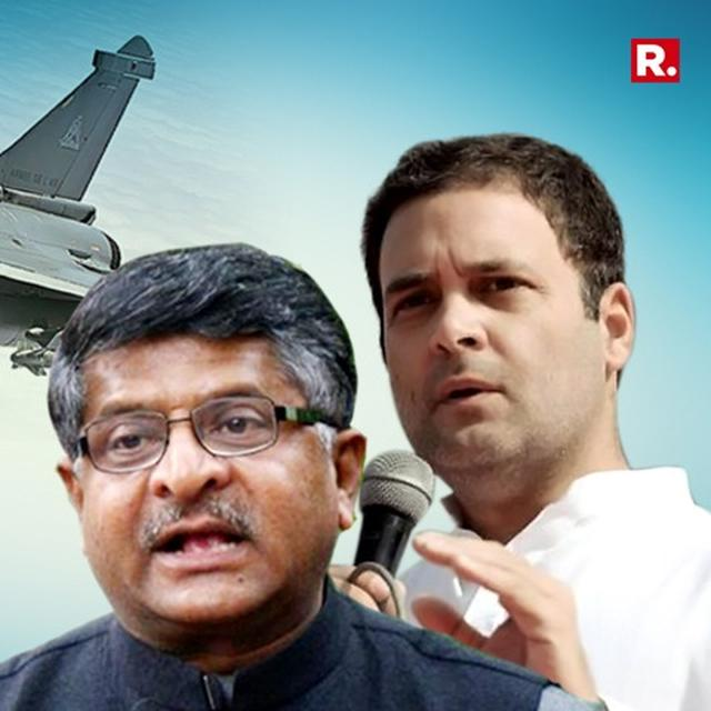 BJP PUTS OUT MOU BETWEEN RELIANCE AND DASSAULT TO EXPOSE RAHUL'S LIES