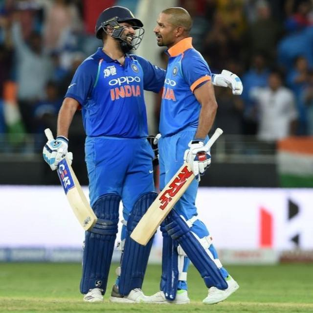 INDIA BEATS PAKISTAN BY NINE WICKETS