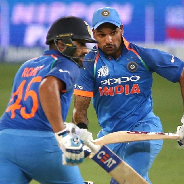 ASIA CUP 2018: DHAWAN, ROHIT BREAK 20-YEAR OLD RECORD