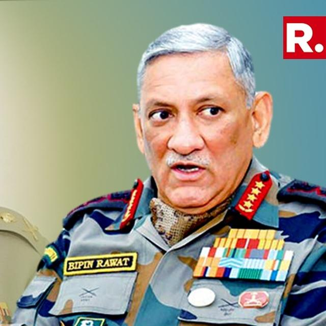 EXCLUSIVE: 'NO MESSAGE FOR BAJWA, ONLY FOR MY ARMY,' SAYS GENERAL BIPIN RAWAT