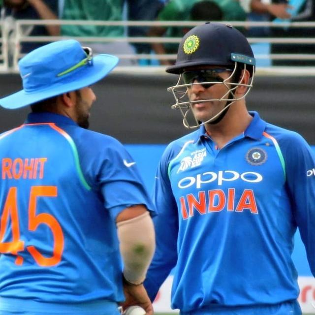 ROHIT SHARMA: WHEN IT COMES TO CALMNESS, I AM SIMILAR TO DHONI