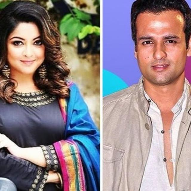 ROHIT ROY DOES NOT STAND WITH TANUSHREE?