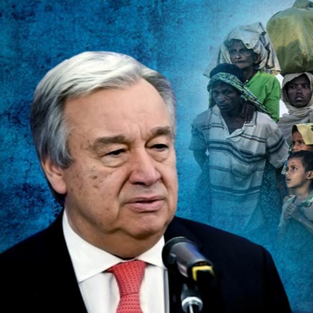 ''INDIA, BANGLADESH SHOULD JOINTLY PRESSURIZE MYANMAR'' SAYS THE UN SECRETARY GENERAL ON ROHINGYAS
