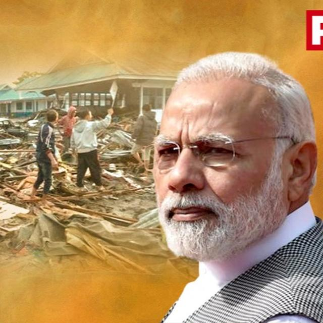 INDIA SENDS MEDICAL AID TO INDONESIA