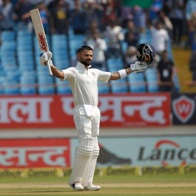 IND V WI: VIRAT KOLHI REACHES 24TH CENTURY IN SECOND FASTEST TIME
