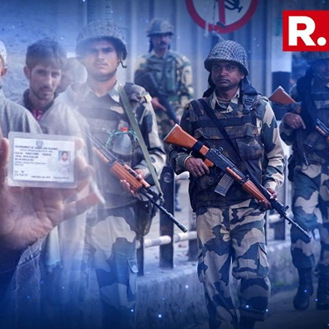 SECURITY STEPPED UP AHEAD OF LOCAL BODY POLLS IN KASHMIR VALLEY