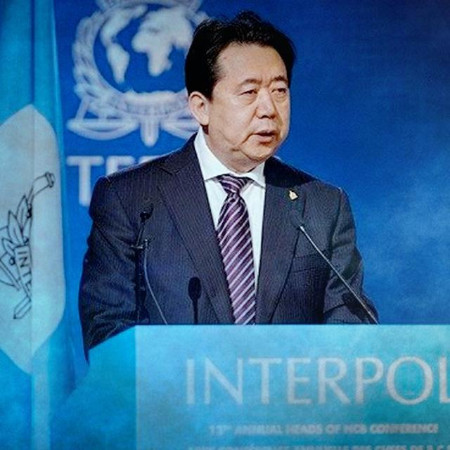 EX-INTERPOL CHIEF ACCEPTED BRIBES, CLAIMS CHINA