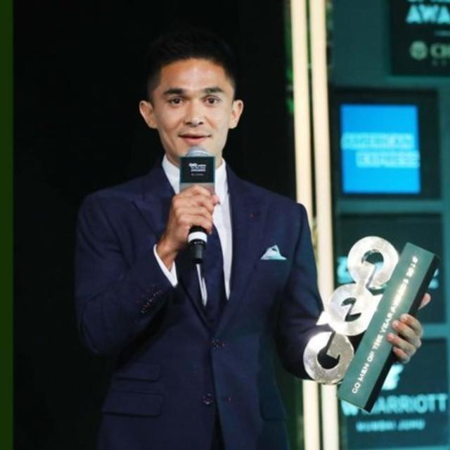 WATCH: SUNIL CHHETRI'S WITTY AWARD ACCEPTANCE SPEECH