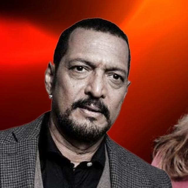 NANA PATEKAR ADDRESSES THE PRESS CONFERENCE FOR LESS THAN A MINUTE