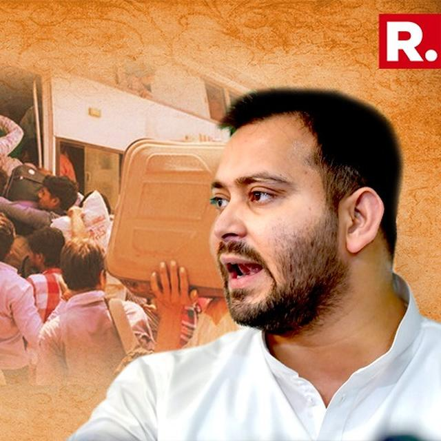 HOW DARE YOU CALL FELLOW INDIANS AS MIGRANTS?: TEJASHWI YADAV