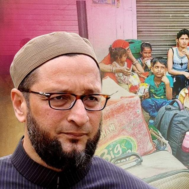 'BJP GOVT IN GUJARAT FAILED TO STOP EXODUS OF MIGRANT WORKERS' SAYS ASADUDDIN OWAISI