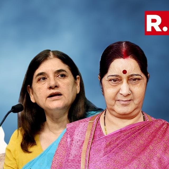 WATCH: SUSHMA SWARAJ, MANEKA GANDHI TURN BLIND EYE ON MJ AKBAR HARASSMENT CHARGES