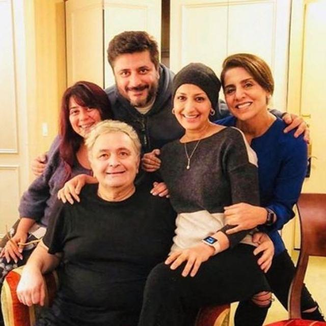 RISHI KAPOOR SLAMS CANCER SPECULATIONS, SAYS DYED HIS HAIR FOR A FILM